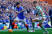 Substitute Daniel Candeias of Rangers FC during the Ladbrokes Scottish Premiership match between Rangers and Celtic at Ibrox, Glasgow, Scotland on 12 May 2019.