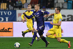 Alexandru Cretu of Maribor during football match between NK Maribor and NK Domzale in 17th Round of Prva liga Telekom Slovenije 2019/20, on November 9, 2019 in Ljudski vrt, Maribor, Slovenia. Photo by Milos Vujinovic / Sportida