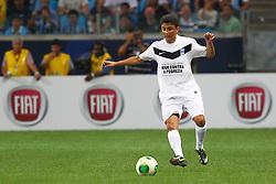 Bebeto durante a 10ª edição do Jogo Contra a Pobreza - Match Against Poverty, na Arena do Grêmio, em Porto Alegre. FOTO: Lucas Uebel/Preview.com