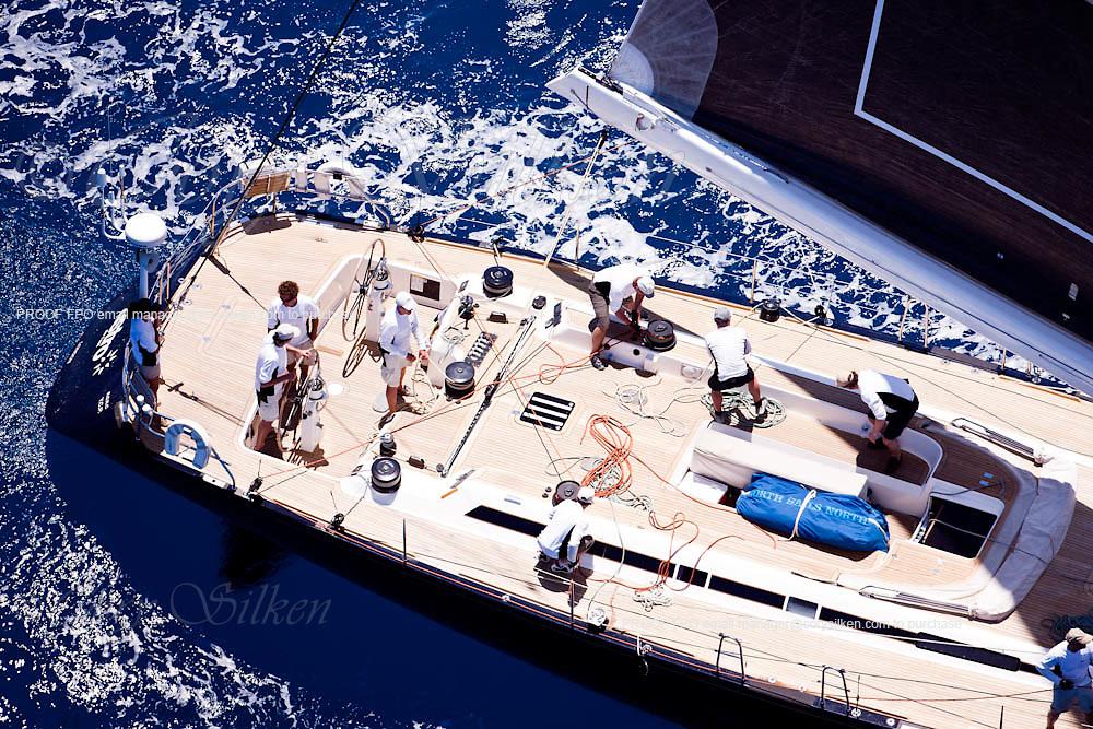 Astro de l'est sailing during the Caribbean Superyacht Regatta and Rendezvous, race 2.