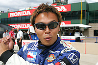 Kosuke Matsuura at the Pikes Peak International Raceway, Honda Indy 225, August 21, 2005