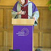 LONDON, ENGLAND May 20 Presentation of Honorary Doctorate to His Holiness the Dalai Lama by London Metropolitan University