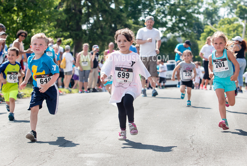 Middletown, New York - The Ruthie Dino-Marshall 5K Run and Fun Walk was held on Sunday, June 14, 2015. The funds raised by the event benefit the Middletown School District Ruthie Dino-Marshall Memorial Fund and the YMCA of Middletown summer camp scholarship fund.