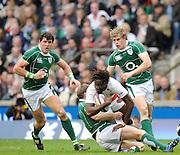 Twickenham. Great Britain, Six Nations Rugby, Englands Paul SACKEY. England vs Ireland,  Match played at the RFU Stadium, 15.03.2008 [Mandatory Credit. Peter Spurrier/Intersport Images]