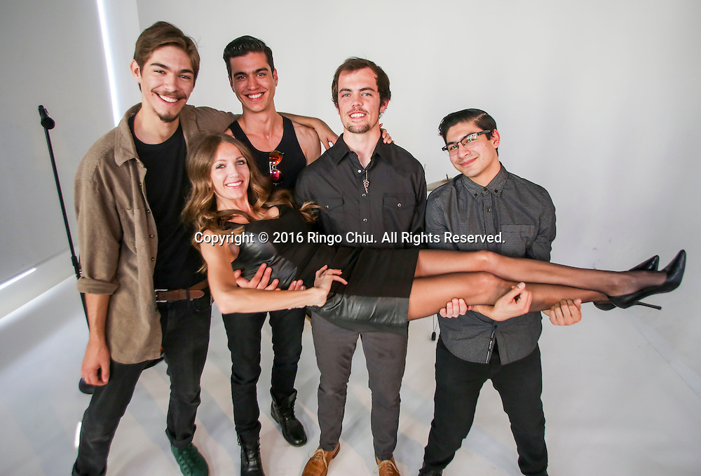 Summer Watson, opera singer turned rock band manager, with her rock group Ulysees. <br /> (Photo by Ringo Chiu/PHOTOFORMULA.com)<br /> <br /> Usage Notes: This content is intended for editorial use only. For other uses, additional clearances may be required.