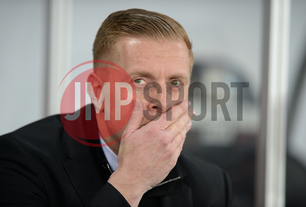 Swansea City Manager Garry Monk - Mandatory byline: Alex James/JMP - 05/12/2015 - Football - Liberty Stadium - Swansea, Wales - Swansea City v Leicester City - Barclays Premier League