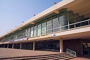 Israel, Tel Aviv the Fredric R Mann Auditorium, the house of the Israeli philharmonic, orchestra, March 2007.