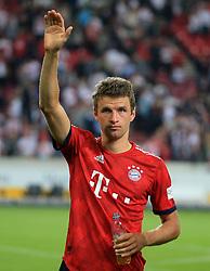 01.09.2018, VfB Stuttgart vs FC Bayern, Mercedes Benz Arena Stuttgart, Fussball, Sport, im Bild:...Thomas Mueller (FCB)...DFL REGULATIONS PROHIBIT ANY USE OF PHOTOGRAPHS AS IMAGE SEQUENCES AND / OR QUASI VIDEO...Copyright: Philippe Ruiz..Handy: 0177 29 39 408. (Credit Image: © Philippe Ruiz/Xinhua via ZUMA Wire)