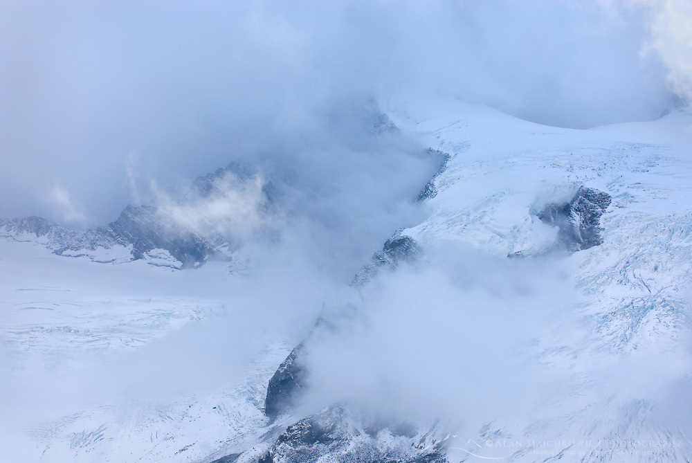 Clearing storm over glaciers of the Truce Group, Purcell Mountains British Columbia Canada