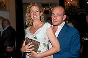 GAY LONGWORTH; ADAM SPIEGEL, Imogen Edwards-Jones - book launch party for ' Hospital Confidential' Mandarin Oriental Hyde Park, 66 Knightsbridge, London, 11 May 2011. <br />  <br /> -DO NOT ARCHIVE-© Copyright Photograph by Dafydd Jones. 248 Clapham Rd. London SW9 0PZ. Tel 0207 820 0771. www.dafjones.com.