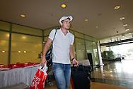 Switzerland's U21 soccer player Gaetano BERARDI arrives at the Renaissance hotel in Zurich, Switzerland, Tuesday, June 7, 2011. The Swiss team attends the UEFA Under-21 (U21) Championship tournament in Denmark. (Photo by Patrick B. Kraemer / MAGICPBK)