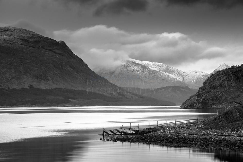 Winter on Loch Etive, Glen Etive
