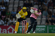 Eoin Morgan of Middlesex batting  during the Vitality T20 Blast South Group match between Hampshire County Cricket Club and Middlesex County Cricket Club at the Ageas Bowl, Southampton, United Kingdom on 20 July 2018. Picture by Dave Vokes.