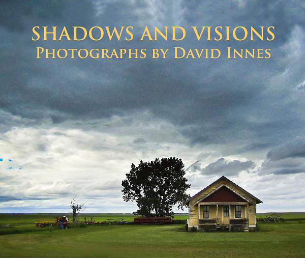 Fine Art Photographs Book by David Innes<br /> Shadows and Visions
