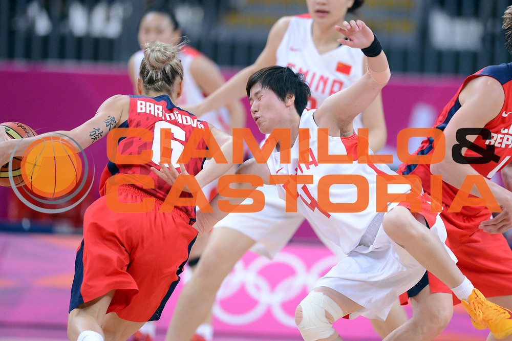DESCRIZIONE : London Londra Olympic Games Olimpiadi 2012 Women Preliminary Round China Czech Republic Cina Repubblica Ceca<br /> GIOCATORE : Shanshan Li<br /> CATEGORIA : Difesa<br /> SQUADRA : China Cina<br /> EVENTO : Olympic Games Olimpiadi 2012<br /> GARA : China Czech Republic Cina Repubblica Ceca<br /> DATA : 28/07/2012 <br /> SPORT : Pallacanestro <br /> AUTORE : Agenzia Ciamillo-Castoria/GiulioCiamillo<br /> Galleria : London Londra Olympic Games Olimpiadi 2012 <br /> Fotonotizia : London Londra Olympic Games Olimpiadi 2012 Women Preliminary Round China Czech Republic Cina Repubblica Ceca<br /> Predefinita :
