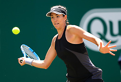 Spain's Garbine Muguruza in action during day four of the Nature Valley Classic at Edgbaston Priory, Birmingham.