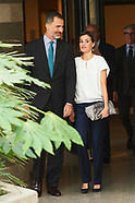072717 Spanish Royals Visit to the facilities of the Telephone Service 016