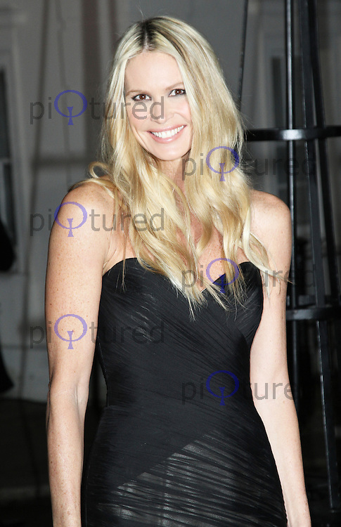 LONDON - DECEMBER 06: Elle Macpherson attended 'A Night of Heroes: The Sun Military Awards' at the Imperial War Museum, London, UK. December 06, 2012. (Photo by Richard Goldschmidt)