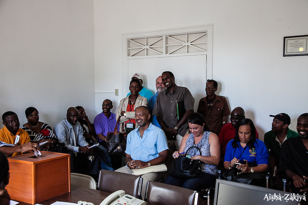 Casting of Lots.  Board of Elections.  10 September 2012.  © Aisha-Zakiya Boyd
