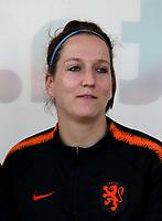 International Women's Friendly Matchs 2019 / <br /> Womens's Algarve Cup Tournament 2019 - <br /> Spain v Netherlands 2-0 ( Municipal Da Bela Vista Stadium- Parchal,Portugal ) - <br /> Ellen Jansen of Netherlands