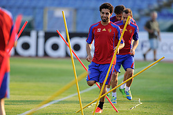 20.08.2013, Sofia, BUL, UEFA CL Play off, FC Basel, Training, im Bild, Mohamed Salah // during the UEFA Champions League Trainings Match of FC Basel in Sofia, Bulgaria on 2013/08/20. EXPA Pictures © 2013, PhotoCredit: EXPA/ Freshfocus/ Andy Mueller<br /> <br /> ***** ATTENTION - for AUT, SLO, CRO, SRB, BIH only *****