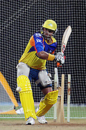 IPL 2012 CSK Practice at Chennai 18th April