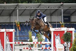 124 - Ferrand HBC - Klompmaker Hester<br /> 4 Jarige Finale Springen<br /> KWPN Paardendagen - Ermelo 2014<br /> © Dirk Caremans