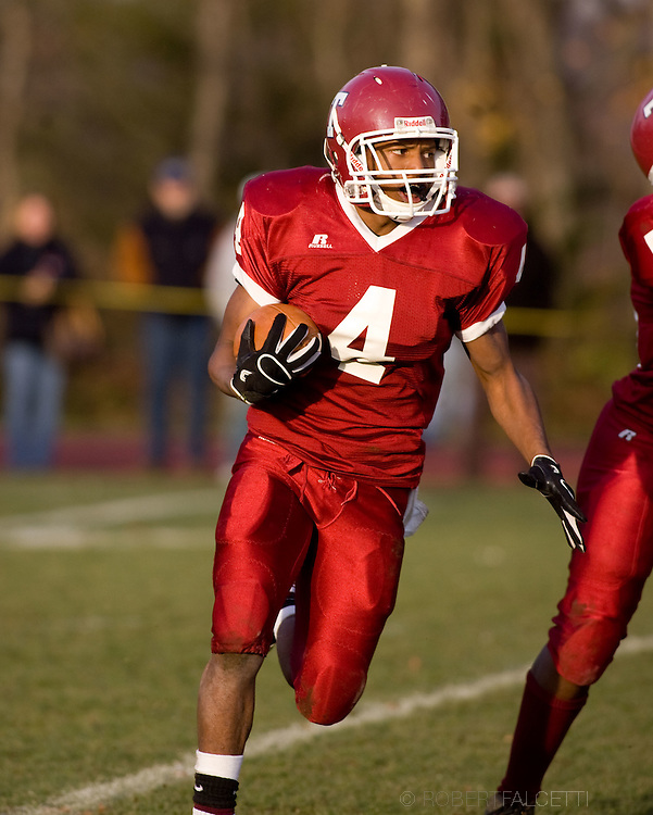 The Taft School, Watertown, CT. November 20, 2011. Taft defeated Kent 28-18 to win the Norm Walker Bowl and the NEPSAC football championship..(Photo by Robert Falcetti)..Admissions marketing & communications photography-New England Private Independent School-Alumni magazine photography  ... .