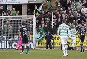 Celtic&rsquo;s Stefan Johansen (25) doubles his team's lead two minutes into the second half - Dundee v Celtic, William Hill Scottish Cup fifth round at Dens Park <br /> <br /> <br />  - &copy; David Young - www.davidyoungphoto.co.uk - email: davidyoungphoto@gmail.com