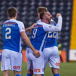 Kilmarnock celebrations for 2-2 - Kilmarnock v Dundee - Ladbrokes Premiership - 13 February 2018 - © Russel Hutcheson | SportPix.org.uk