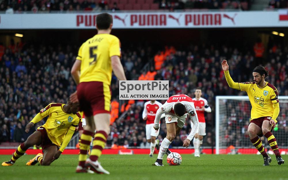 Arsenal Vs Burnley, FA Cup Fourth Round, 30.01.2016 (c) Joshua Smith | SportPix.org.uk
