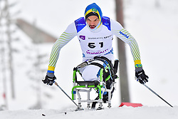 LULA Robelson, BRA, LW12 at the 2018 ParaNordic World Cup Vuokatti in Finland