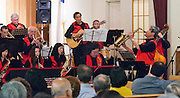 The Minidoka Swing Band performs at the 2011 Memorial Tribute to Robbie Tsuboi, Epworth United Methodist Church, Portland, Oregon
