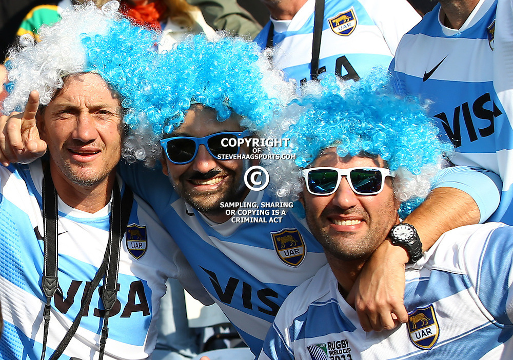 LEICESTER, ENGLAND - OCTOBER 04: General views of activities and fans during the Rugby World Cup 2015 Pool C match between Argentina and Tonga at Leicester City Stadium on October 04, 2015 in Leicester, England. (Photo by Steve Haag/Gallo Images)