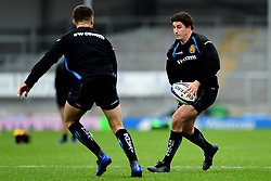 Tom Hendrickson during a training session at Sandy Park prior to their trip to La Rochelle in the European Rugby Champions Cup.  - Ryan Hiscott/JMP - 13/11/2019 - SPORT - Sandy Park - Exeter, England - Exeter Chiefs Training Session