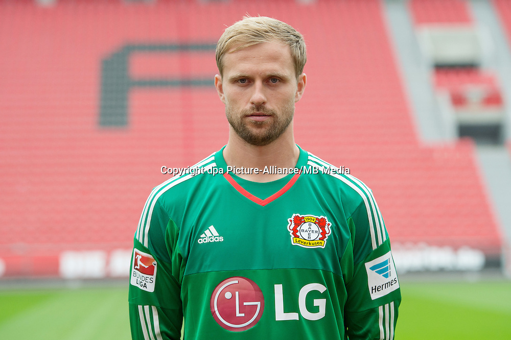 German Soccer Bundesliga 2015/16 - Photocall Bayer 04 Leverkusen on 13 July 2015 in Leverkusen, Germany: Dario Kresic.