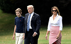 DC: President Trump & Family leave the White House - 30 June 2017