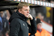 AFC Bournemouth manager Eddie Howe during the Premier League match between Bournemouth and Brighton and Hove Albion at the Vitality Stadium, Bournemouth, England on 21 January 2020.
