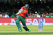 Soumya Sarkar of Bangladesh plays an attacking shot during the ICC Cricket World Cup 2019 match between Pakistan and Bangladesh at Lord's Cricket Ground, St John's Wood, United Kingdom on 5 July 2019.