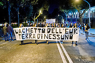 "Roma 21 Novembre 2014<br /> Manifestazione contro prostituzione e degrado all' EUR, organizzata dal comitato di quartiere ""Ripartiamo dall'Eur"" e dall'associazione commercianti della zona. La manifestazione è stata indetta per chiedere un intervento dalle istituzioni sulla prostituzione e il degrado nel quartiere.<br /> Rome November 21, 2014<br /> Demonstration against prostitution and degradation in the EUR district, organized by the neighborhood committee, and by the traders in the area The demonstration was called to request assistance from the institutions against prostitution and degradation in the neighborhood."