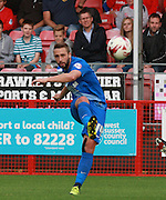 Leyton Orient midfielder Sammy Moore passes forward during the Sky Bet League 2 match between Crawley Town and Leyton Orient at the Checkatrade.com Stadium, Crawley, England on 10 October 2015. Photo by Bennett Dean.