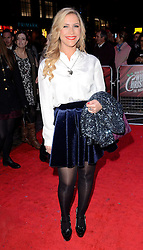 Heidi Range attends White Christmas Press Night at The Dominion Theatre, Tottenham Court Road, London on Wednesday 12 November 2014