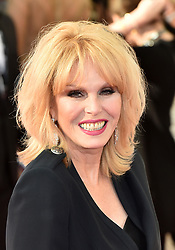 Joanna Lumley arriving for the Virgin TV British Academy Television Awards 2017 held at Festival Hall at Southbank Centre, London. PRESS ASSOCIATION Photo. Picture date: Sunday May 14, 2017. See PA story SHOWBIZ Bafta. Photo credit should read: Matt Crossick/PA Wire