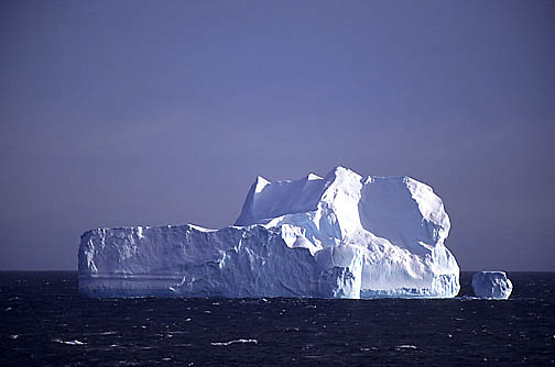 Antarctica, Iceberg in Weddell Sea.