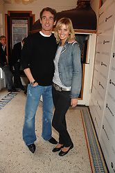 TIM JEFFERIES and MALIN JOHANSSON at the Grand Classics presentation of Ken Loach's Oscar winning film 'Closely Observed Trains' held at the Electric Cinema, Portobello Road, London W11 on 9th July 2007.<br />