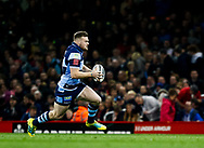 Owen Lane of Cardiff Blues<br /> <br /> Photographer Simon King/Replay Images<br /> <br /> Guinness PRO14 Round 21 - Cardiff Blues v Ospreys - Saturday 27th April 2019 - Principality Stadium - Cardiff<br /> <br /> World Copyright © Replay Images . All rights reserved. info@replayimages.co.uk - http://replayimages.co.uk