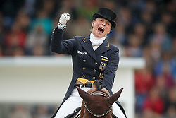 Werth Isabell, (GER), Don Johnson FRH<br /> Grand Prix Kur<br /> European Championships - Aachen 2015<br /> © Hippo Foto - Dirk Caremans<br /> 16/08/15