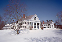 Main St. in winter, Walpole, NH