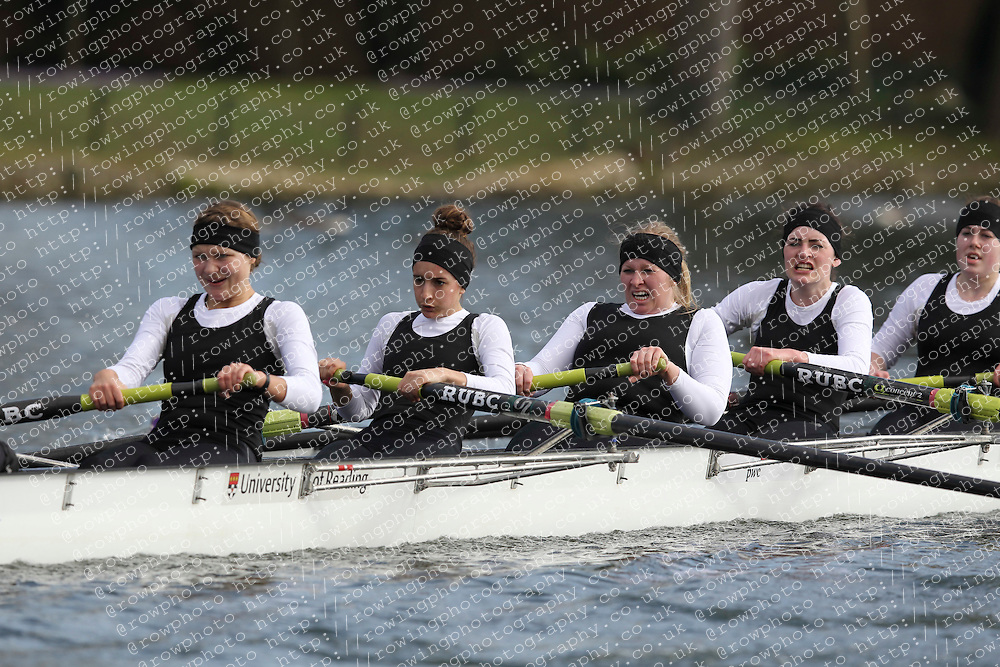 2012.02.25 Reading University Head 2012. The River Thames. Division 1. Reading University Boat Club WNov 8+