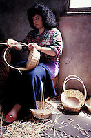 Basket maker - Madeira island - Portugal